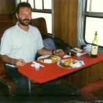 First Class Menü im Zug