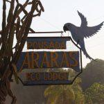 Schild Pousada Araras Eco Lodge
