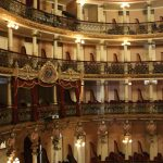 Saal des Teatro Amazonas mit Rängen