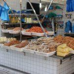 Fisch und Meerestiere im Markt