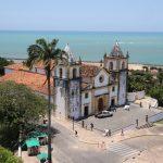 Blick vom Wasserturm auf die Igreja da Sé