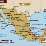 Reiseroute Mexiko